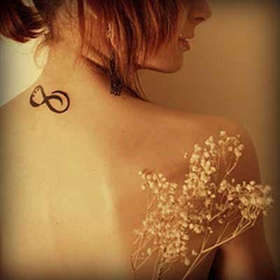fotos de tatuagens de infinito