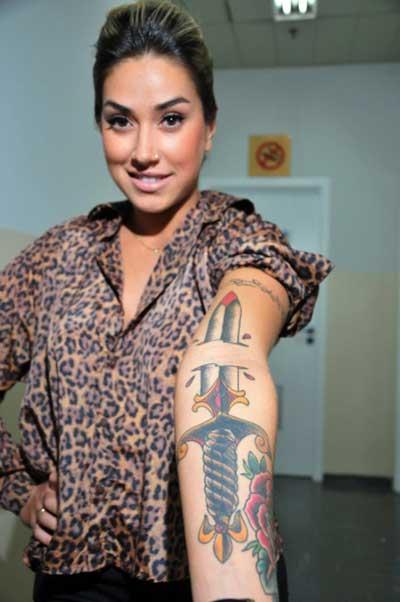 tattoos da dani bolina