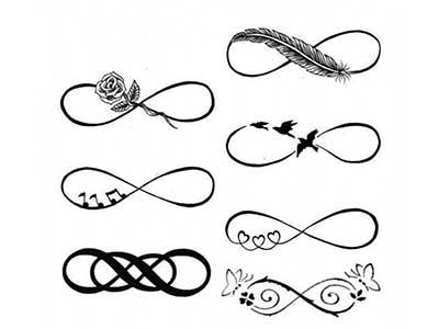 desenhos de tatuagens de infinito