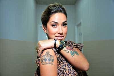 imagens das tatuagens da dani bolina