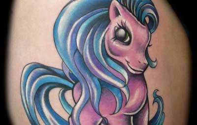 fotos de tatuagens de desenhos animados
