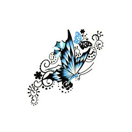 fotos de tatuagens de borboletas