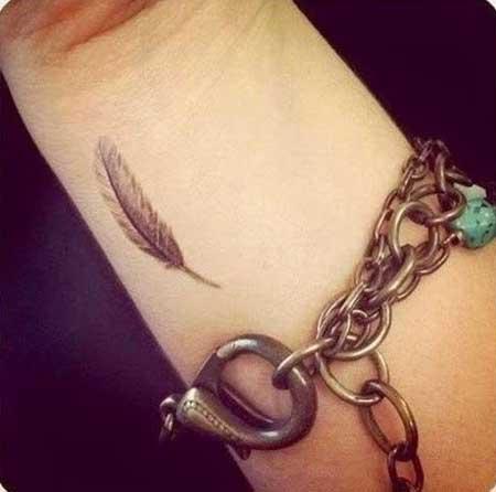 significado de tatuagem de pena
