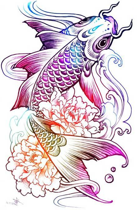 Significado de tatuagem de carpa o que significa for Carpas koi cuidados