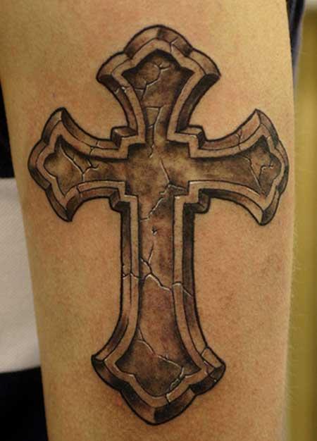 significado de tatuagem de cruz o que significa. Black Bedroom Furniture Sets. Home Design Ideas