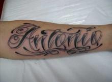 Tatuagens de Nomes