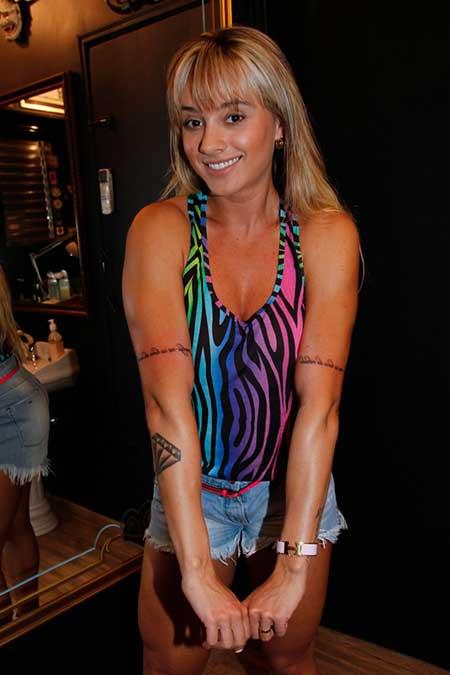 tattoos da modelo