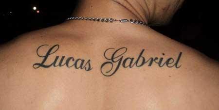35 Tatuagens De Nomes Fotos Inspiração Imagens