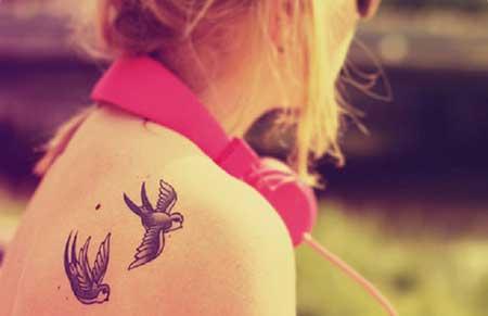 dicas de tattoos femininas