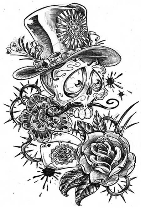 50 fotos de tatuagens old school desenhos e imagens