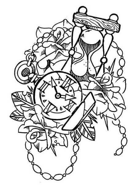 Desenhos de Tatuagens Old School