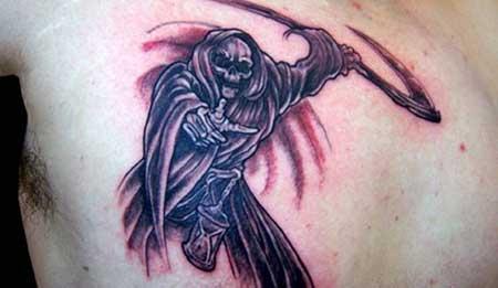 fotos de tatuagens de morte
