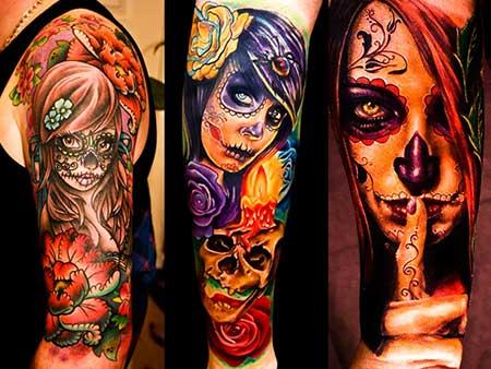imagens de tatuagens de morte
