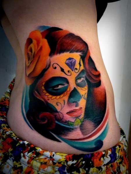 tatuagem desenhada