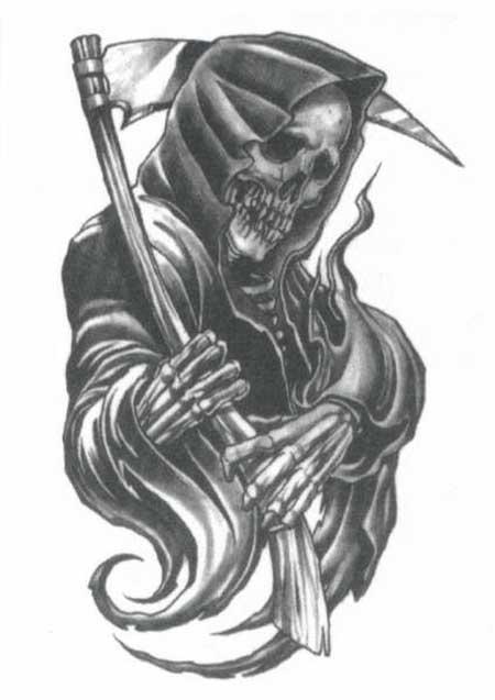 tatuagens de morte