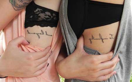Tatuagens De Frases Masculinas E Femininas Fotos E Dicas