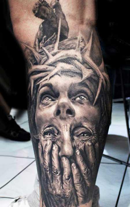 modelos de tatuagens religiosas