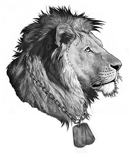 dicas de tatuagens de leão