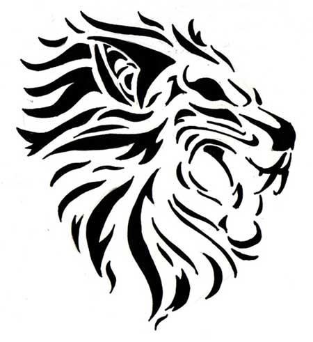 tatuagens de leões