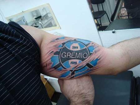 modelo de tatuagem do grêmio
