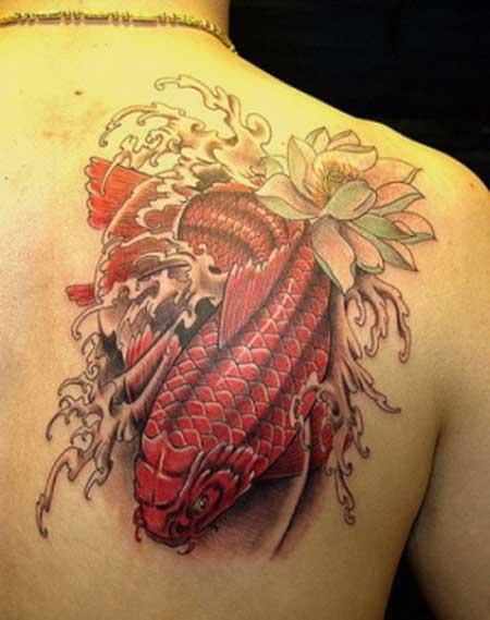 50 fotos de tatuagens de carpas imagens e desenhos for Como criar peces koi
