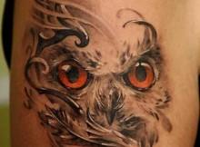 tatuagens de corujas
