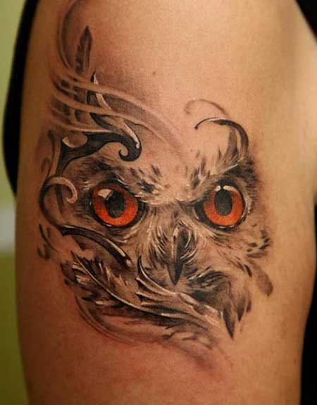 Resultado de imagem para o que significa a coruja tatuagem