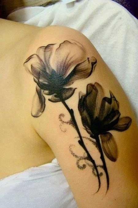tatuagem feminina delicada