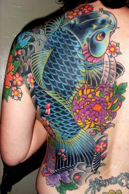 Amado 50 Fotos de Tatuagens de Carpas (Imagens e Desenhos) UV27