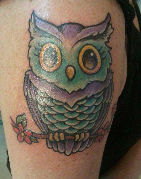 imagens de tatuagens de corujas