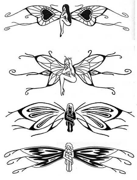 modelos de tatuagens de fadas