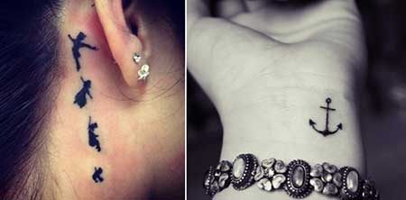 tattoos femininas delicadas