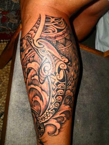modelos de tatuagens na perna