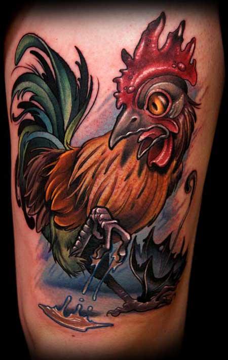 dicas de tatuagens de galo