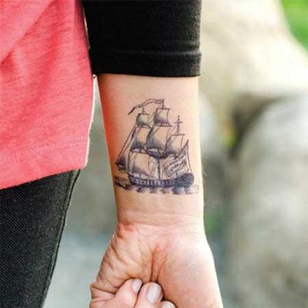 tatuagens femininas no braço com lugares
