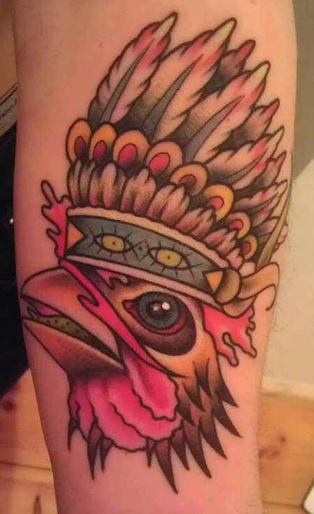 dica de tatuagem de galo