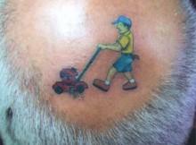 tatuagens na cabeça