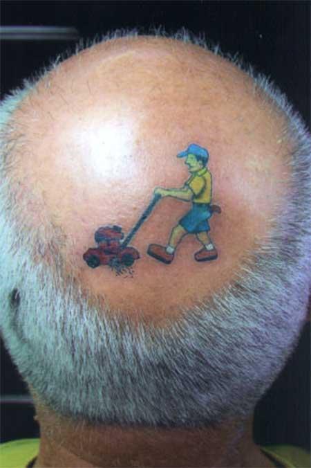 Tatuagens Na Cabeça Dói Fotos Careca Dicas Desenhos