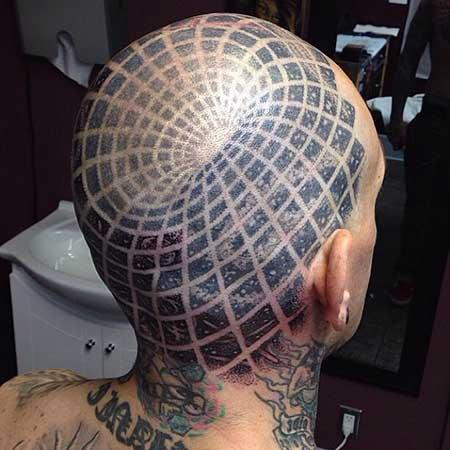 fotos de tatuagens na cabeça