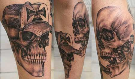 modelos de tatuagens na canela