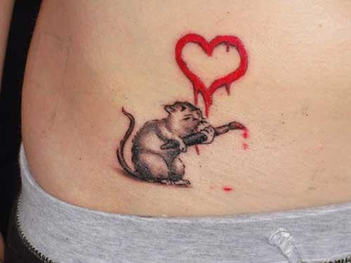Tatuagens na Cintura