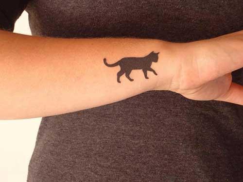 fotos de tatuagem de gatinho