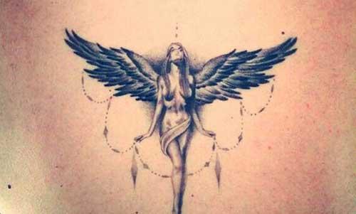 tattoos de anjinhos