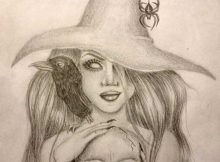 tatuagem de bruxa