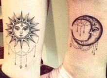 tatuagem de sol