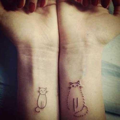 imagens de tatuagem de gatinho