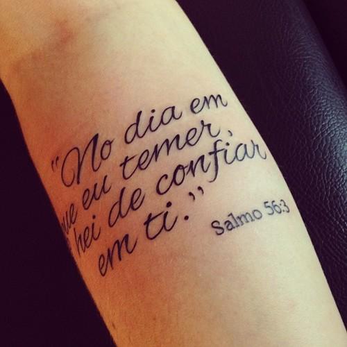 21 Tatuagens De Salmos Da Bíblia Fotos Desenhos E Imagens