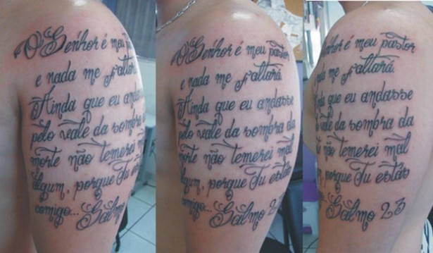 tatuagens escritas texto