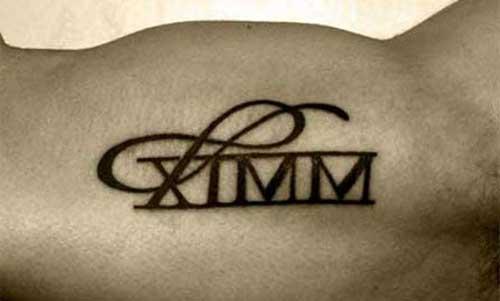 Tattoos de Números Romanos