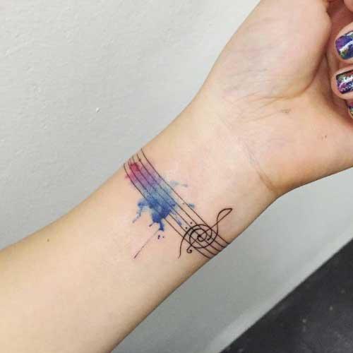 Tatuagens de Braceletes